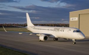 Embraer Lineage 1000 ground