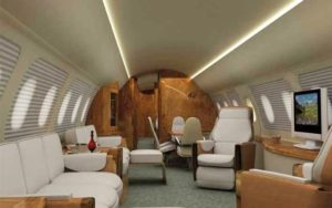 Embraer Lineage 1000 interior