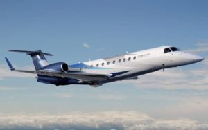 Embraer Legacy 600 gaining altitude