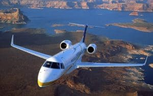 Embraer Legacy 450 flight