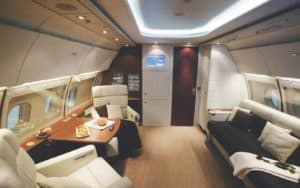 Embraer Legacy 450 interior