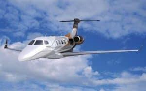 Embraer Phenom 300 flight