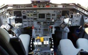 Embraer EMB 120 Brasilia cockpit flight deck