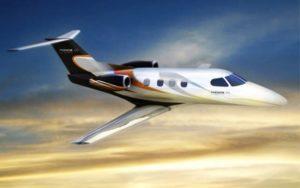 Embraer Phenom 100 midair